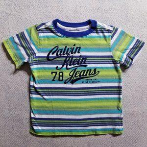 Calvin Klein Jeans Short Sleeve Striped T-Shirt